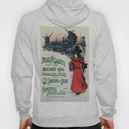 Moulin De La Galette 1896 Paris Hoody