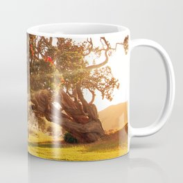 Pohutukawa swing tree Coffee Mug