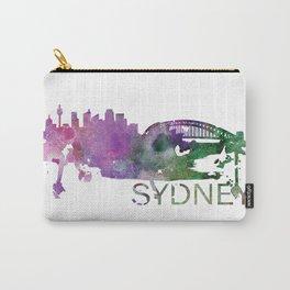 Sydney, Australia Skyline Watercolor Art Print Carry-All Pouch