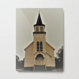 Grong Lutheran Church Metal Print