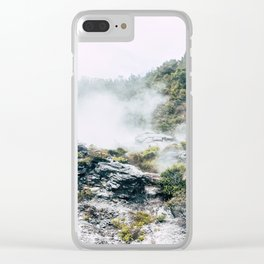 Steaming Earth Clear iPhone Case
