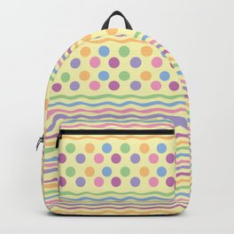 Polka dots and stripes Backpack