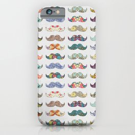 Mustache Mania iPhone Case