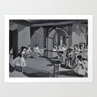 degas Art Prints featuring Degas Master Study by Mallory Pearson