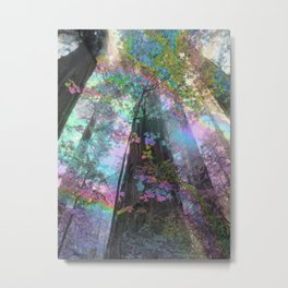 Shimmering Giants Metal Print