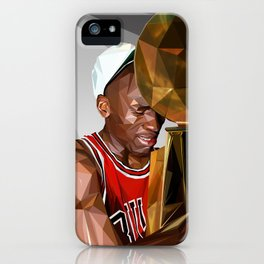 MJ THE GOAT iPhone Case