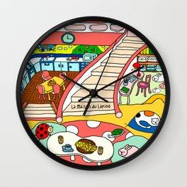 La Maison du Lapino Wall Clock