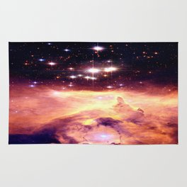 Galaxy nebUla : Warm Scorpius Rug