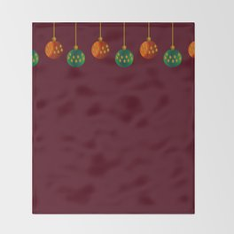 Christmas - The Best Time Of The Year Throw Blanket