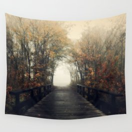 Walk into infinity Wall Tapestry