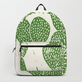 Linocut Cactus #1 Backpack