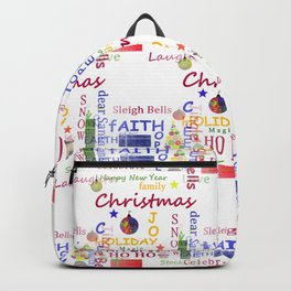 Christmas Message Backpack