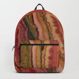 Salmon Striped Quartz Backpack