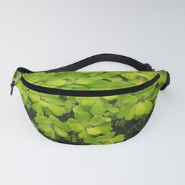 Bright Green Water Plant Fanny Pack