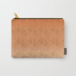 """""""Cactus flowers in soft orange"""" Carry-All Pouch"""