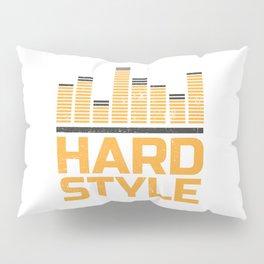 Hardstyle Equalizer   Electro Techno Party Pillow Sham