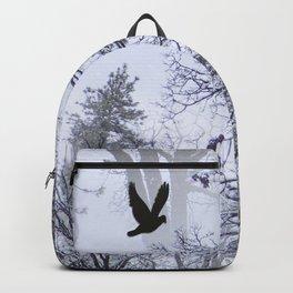 Winter Raven... Backpack