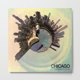 Chicago - Vintage Metal Print