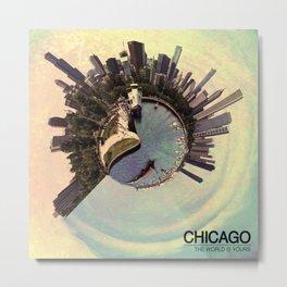 Chicago - Vintage Metal Print