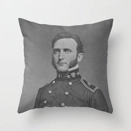 Stonewall Jackson Portrait -- Civil War Throw Pillow