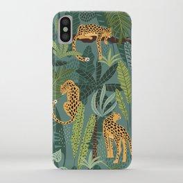 Jungle Leopards iPhone Case