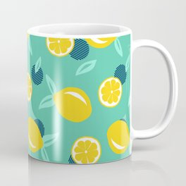 Lemon dots #society6 #decor #buyart Coffee Mug