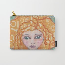 My Mind Goes All Over the Place Carry-All Pouch