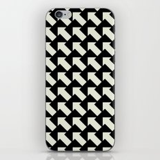 White Arrows iPhone Skin