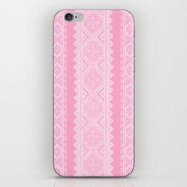 Ukrainian embroidery heavenly pink iPhone Skin