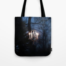Chandelier in the Wild Tote Bag