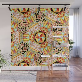 Gypsy Patchwork (printed) Wall Mural