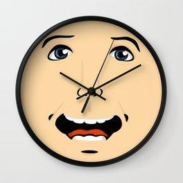 Feeling Flat Wall Clock