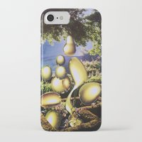 oil iPhone & iPod Cases featuring Oil by John Turck