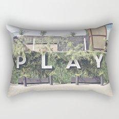P L A Y  Rectangular Pillow