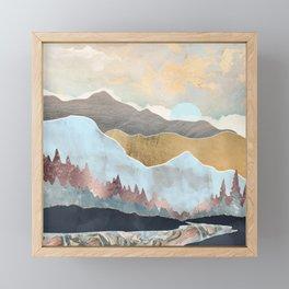 Winter Light Framed Mini Art Print