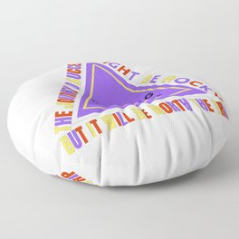 The Journey To Success Floor Pillow