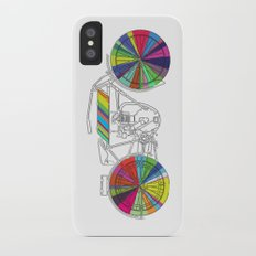 Rainbow Cycle iPhone X Slim Case