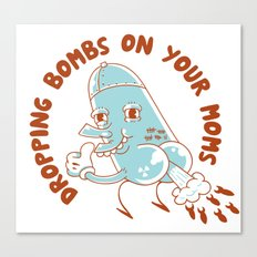 Droppin' Bombs Canvas Print