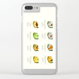 Tofu Clear iPhone Case