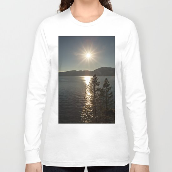 star over the lake Long Sleeve T-shirt