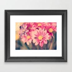 Pink Retro  Framed Art Print