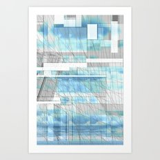 Sky Scraped Art Print