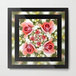 Roses of Romance Metal Print