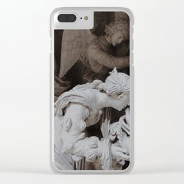 Sculpture 2 Clear iPhone Case