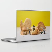 work hard Laptop & iPad Skins featuring Hard Work by Encolhi as Pessoas