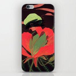 Phoenix Flower iPhone Skin