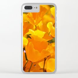 Orgasmic Poppies by Reay of Light Photography Clear iPhone Case