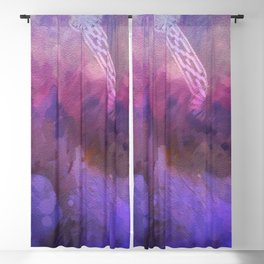 Purple haze memories Blackout Curtain