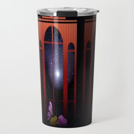 Windows to the stars. Travel Mug