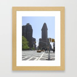 Flatiron Building New York Framed Art Print